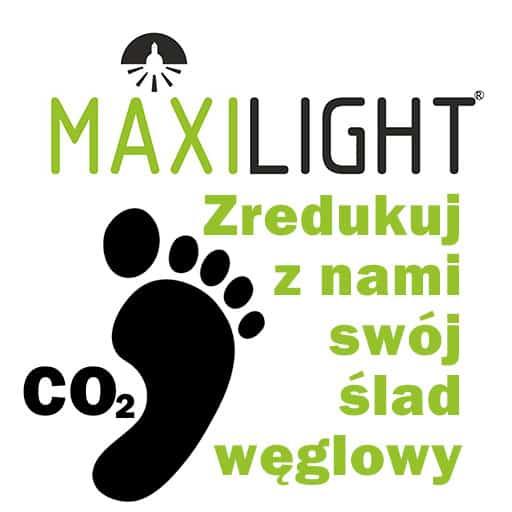 ślad węgłowy - redukuj swój z Maxi Light